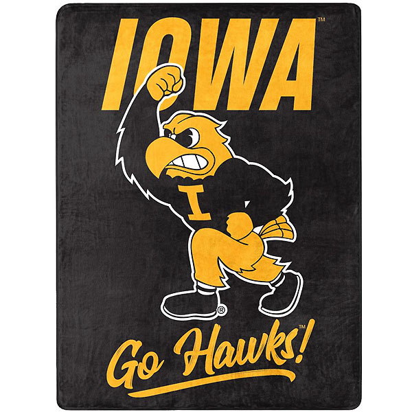 Iowa Hawkeyes Silk Touch Blanket