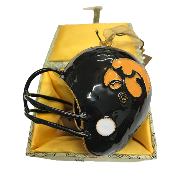 Iowa Hawkeyes Helmet Ornament
