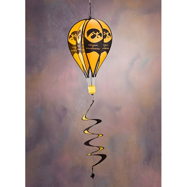 Iowa Hawkeyes Hot Air Balloon Spinner