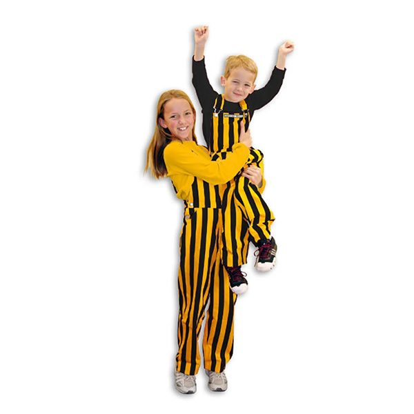 Iowa Hawkeyes Youth Gameday Bib Overalls