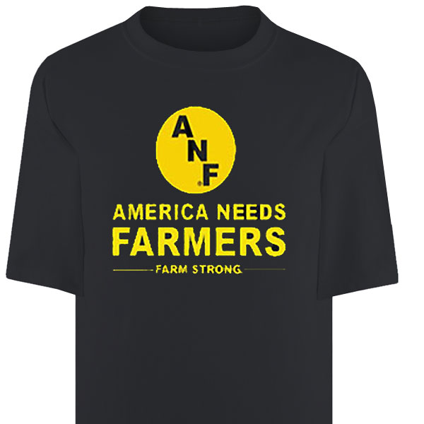 Iowa Hawkeyes ANF America Needs Farmers Tee