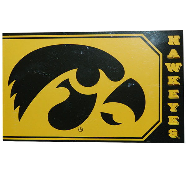 Iowa Hawkeyes 3' x 5' Gold Flag