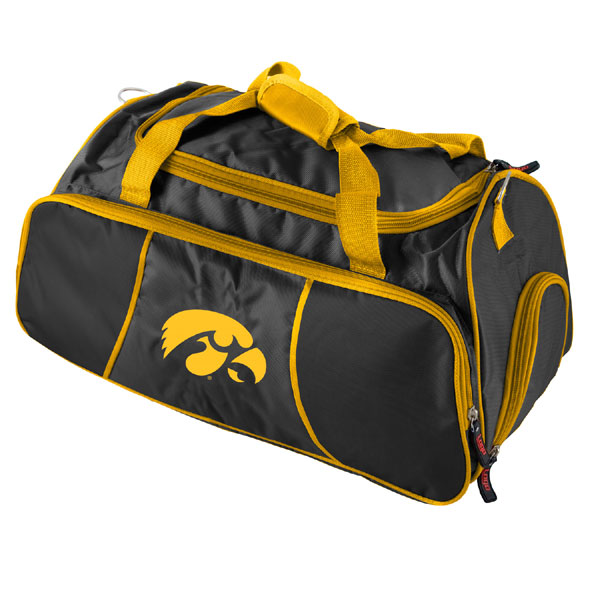 Iowa Hawkeyes Athletic Duffle Bag