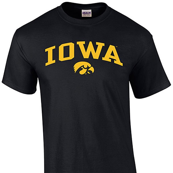 Iowa Hawkeyes Toddler Arch Logo Tee