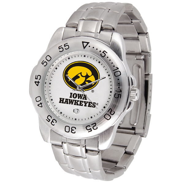 Iowa Hawkeyes Sport Steel Watch