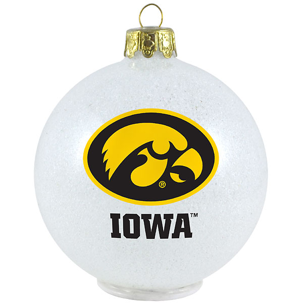 Iowa Hawkeyes LED Color Changing Ornament