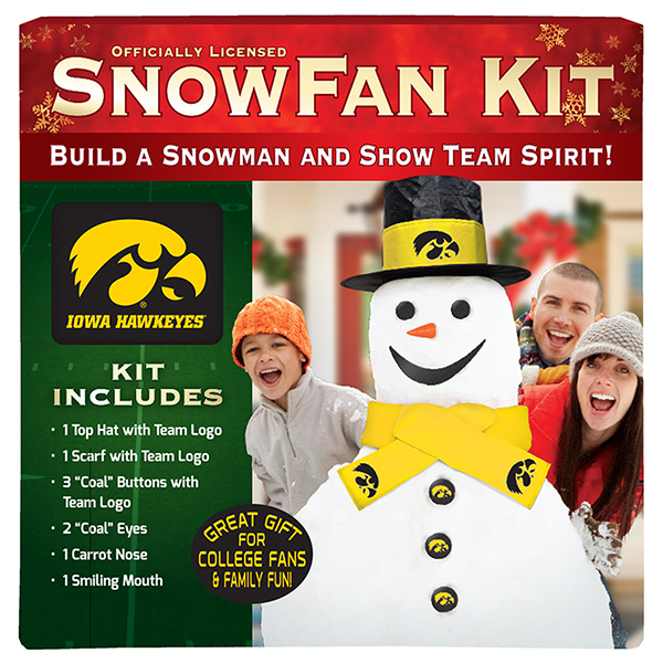 Iowa Hawkeyes Snowfan Kit