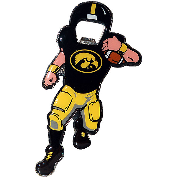 Iowa Hawkeyes Player Bottle Opener