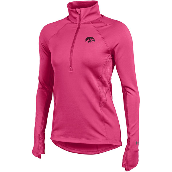 Iowa Hawkeyes Women's Verve 1/2 Zip Top - Pink