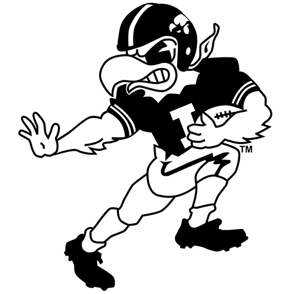 herky the hawkeye coloring pages - photo#1