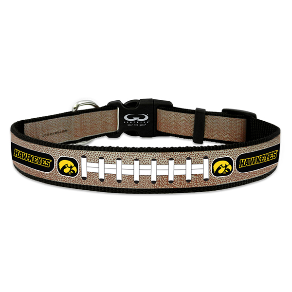 Iowa Hawkeyes Reflective Pet Collar