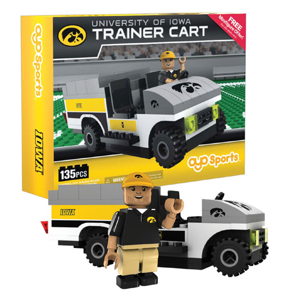 Iowa Hawkeyes Trainer Cart