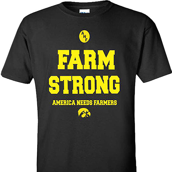 Iowa Hawkeyes ANF Farm Strong Tee