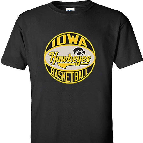 Iowa Hawkeyes Chest Bump Tee