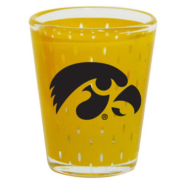 Iowa Hawkeyes Jersey Shot Glass