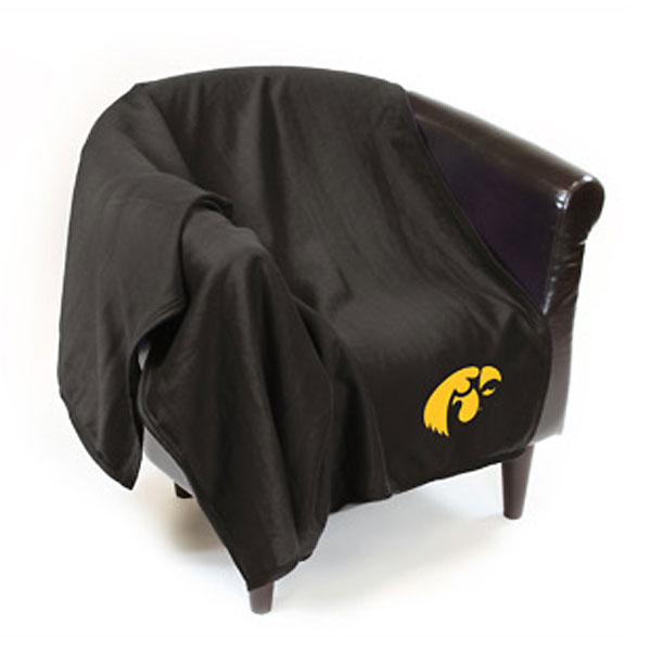 Iowa Hawkeyes Sweatshirt Throw