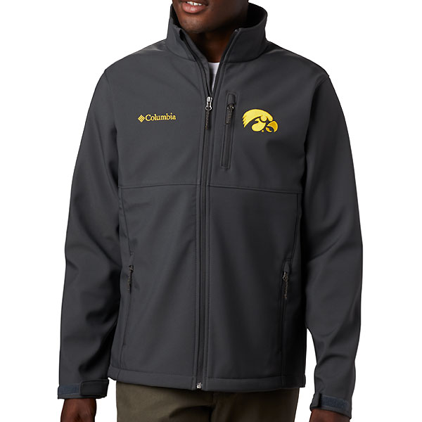Iowa Hawkeyes Ascender Charcoal Jacket