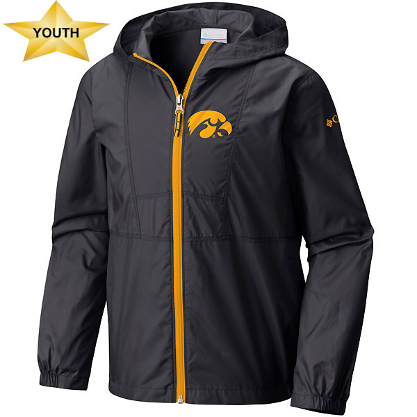 Iowa Hawkeyes Youth Flashback Windbreaker