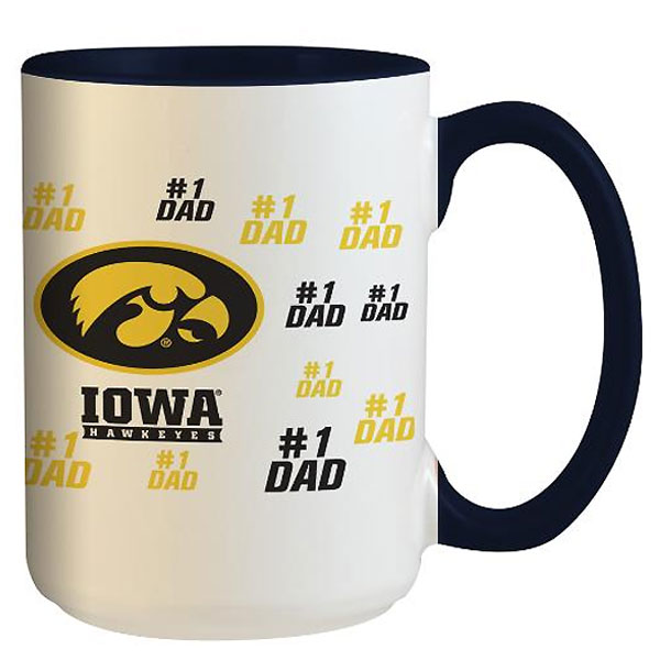 Iowa Hawkeyes Dad Coffee Cup