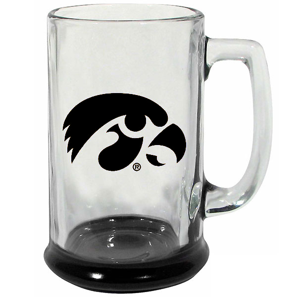 Iowa Hawkeyes Highlighted Glass