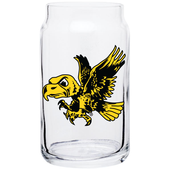 Iowa Hawkeyes Vintage Taster Glass
