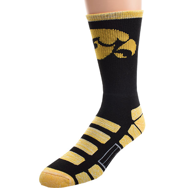 Iowa Hawkeyes Patches Socks