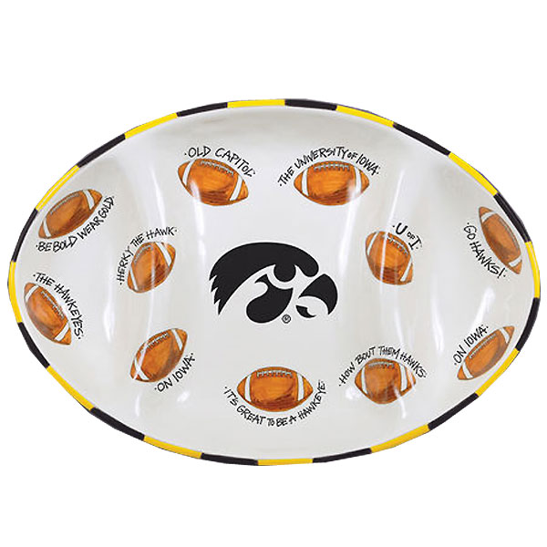Iowa Hawkeyes Football Platter