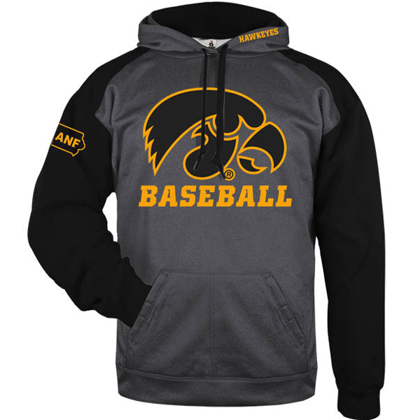Iowa Hawkeye Baseball ANF Performance Hoodie