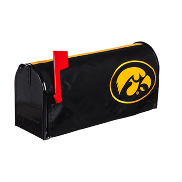 Iowa Hawkeyes Mailbox Cover