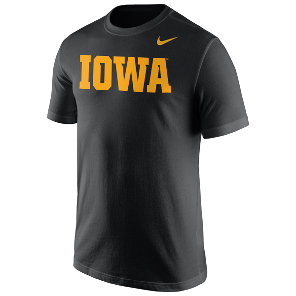 "Iowa Hawkeyes ""IOWA"" Tee"