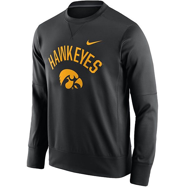 Iowa Hawkeyes Circuit Crew Sweat
