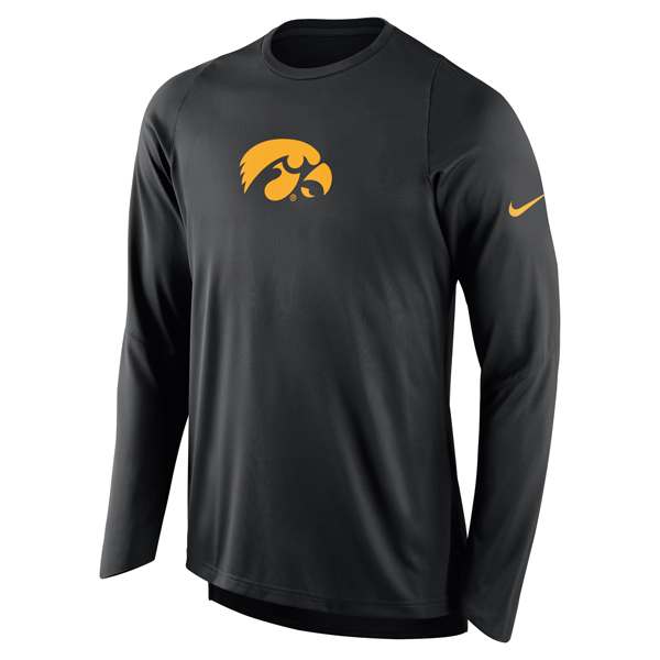 Iowa Hawkeyes Elite Shooter Long Sleeve Tee