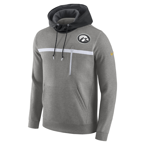 Iowa Hawkeyes Champ Drive Fleece Pull Over