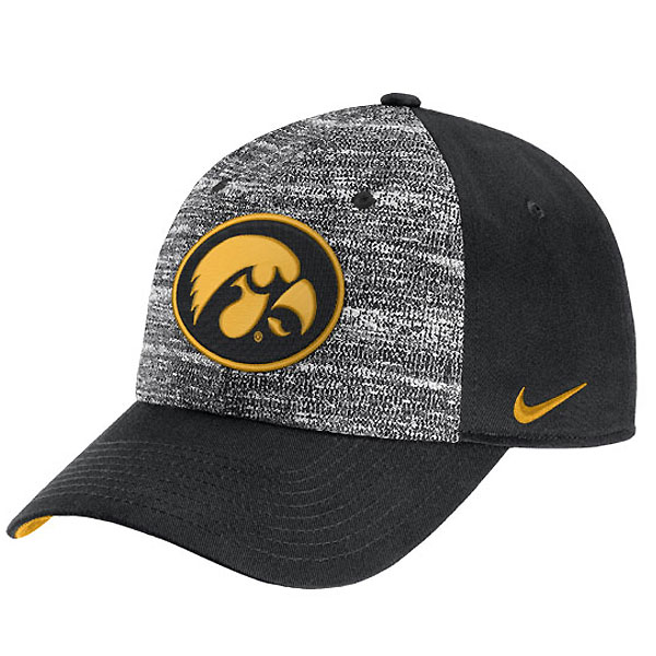 Iowa Hawkeyes Heathered Cap