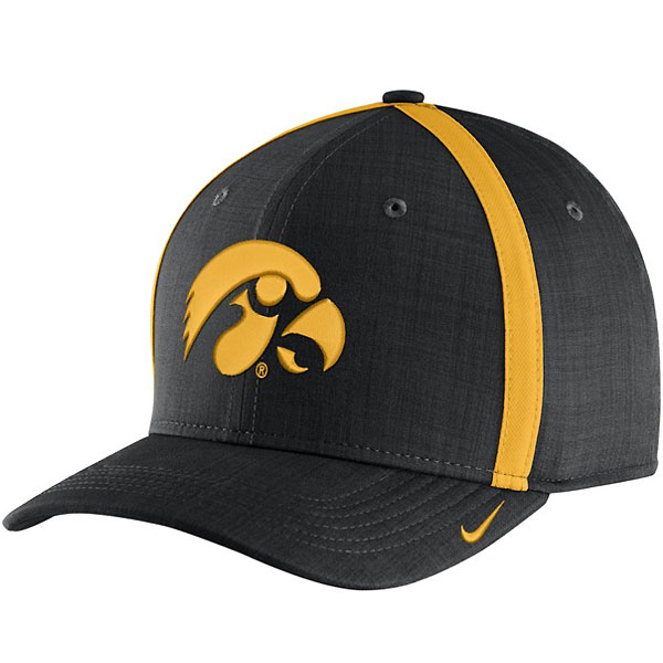 Iowa Hawkeyes Aerobill Adjustable Sideline Coaches Hat bc37697ee71f