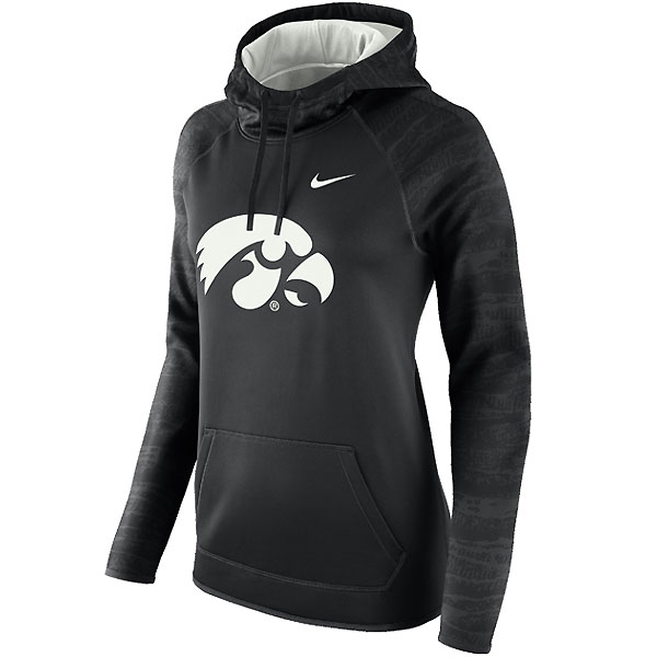 Iowa Hawkeyes Women's Therma Hoodie
