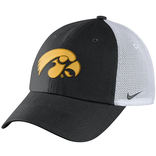 Iowa Hawkeyes H86 Meshback Trucker Adjustable Hat