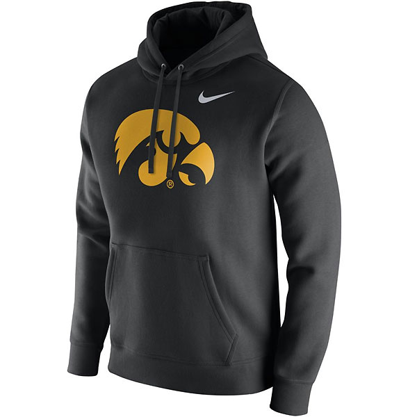 Iowa Hawkeyes Club Fleece Hoodie