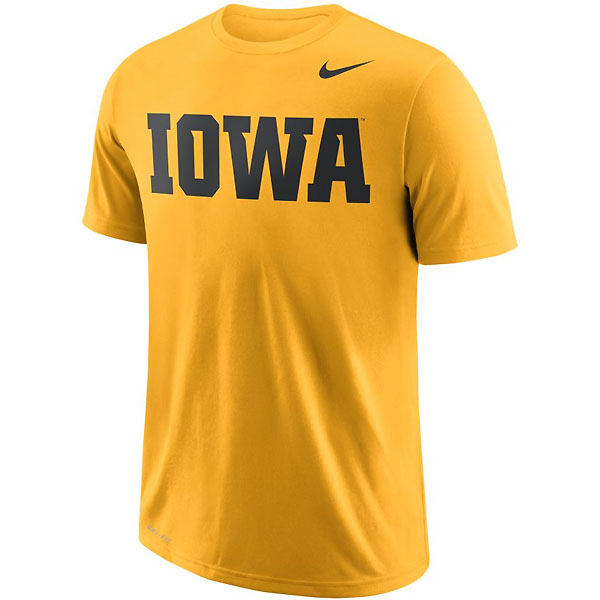 Iowa Hawkeyes Wordmark Tee
