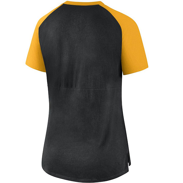 Iowa Hawkeyes Women's V-neck Top
