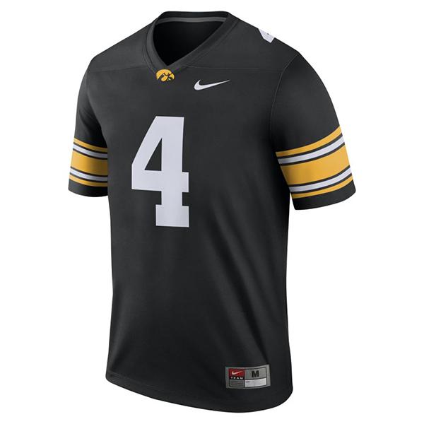 Iowa Hawkeyes 2018 #4 Football Jersey