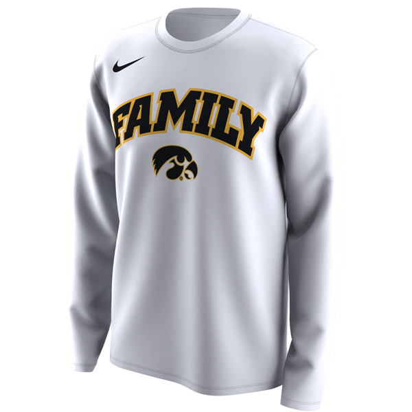 Iowa Hawkeyes Nike Family Long Sleeve Tee