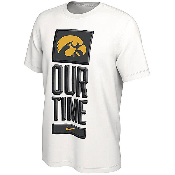 Iowa Hawkeyes Our Time Tee - Short Sleeve