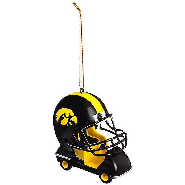 Iowa Hawkeyes Field Car Ornament