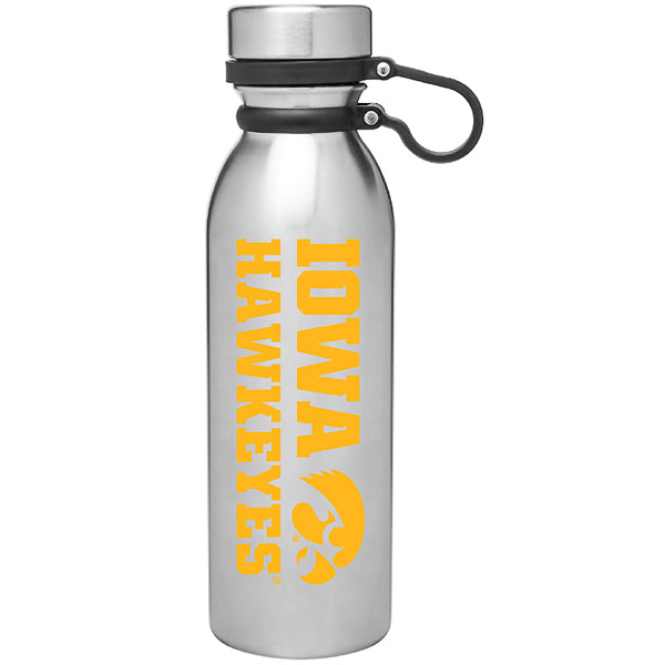 Iowa Hawkeyes Evie Stainless Bottle