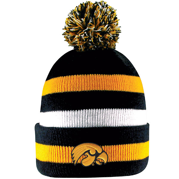 Iowa Hawkeyes Primetime Knit Hat