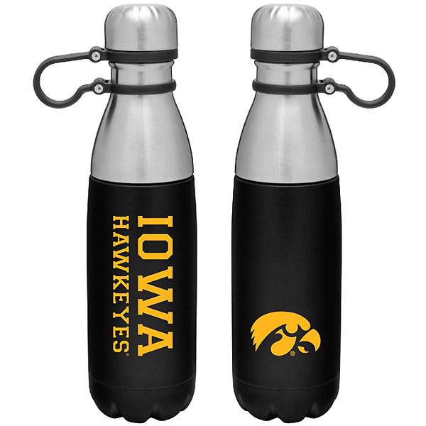 Iowa Hawkeyes Corbin Stainless Bottle