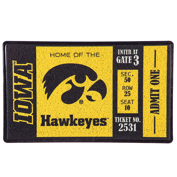 Iowa Hawkeyes Turf Mat