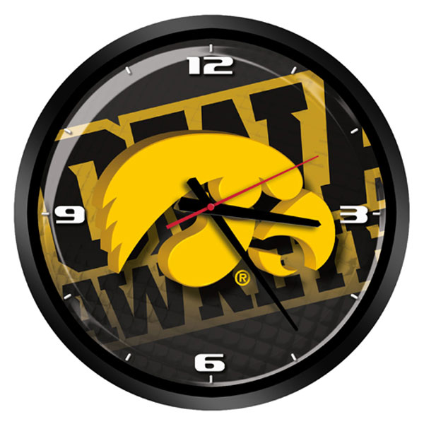 Iowa Hawkeyes Hi-Def Sports Clock