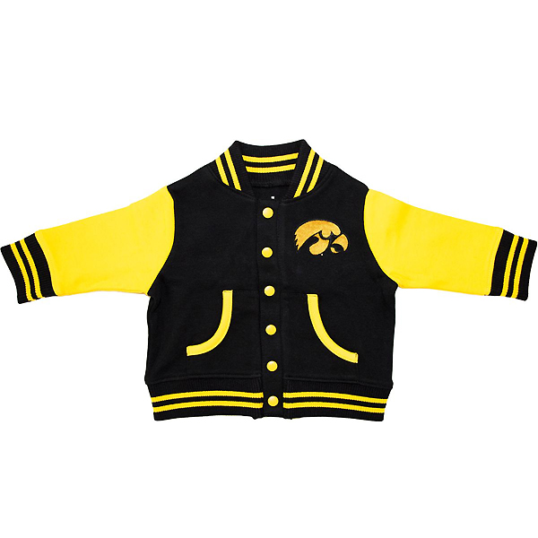 Iowa Hawkeyes Toddler Varsity Jacket